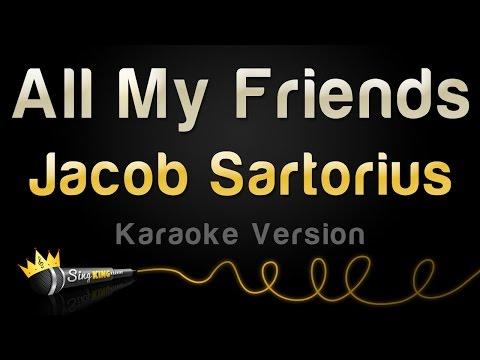 Jacob Sartorius - All My Friends (Karaoke Version)