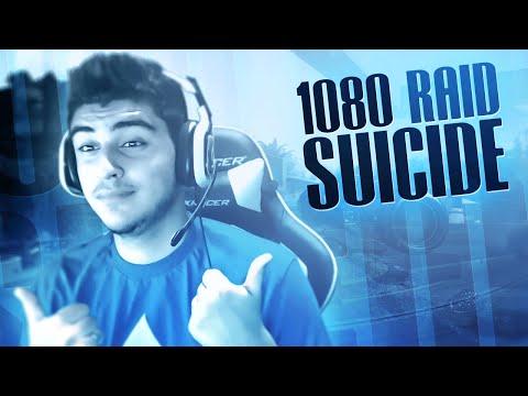 1080 RAID SUICIDE!! (BO2)