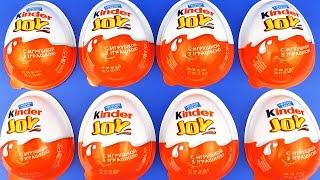Kinder Joy Surprise eggs unboxing Surprise Eggs Toys