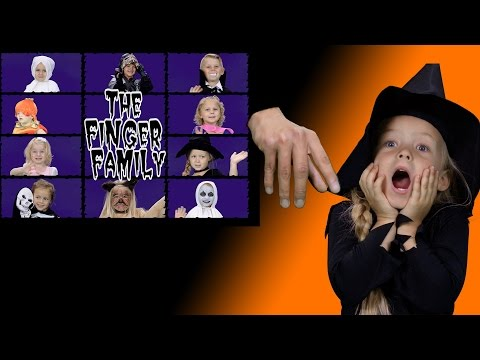 Finger Family Halloween Song | Halloween Song for Kids | Kids Songs