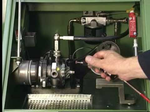 High-speed turbo balancing machine