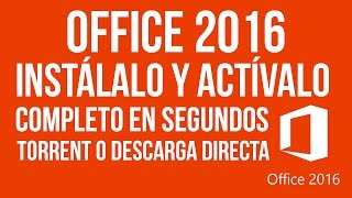 COMO ACTIVAR OFFICE 2016 Y OBTENER SERIAL ORIGINAL PERMANENTEMENTE
