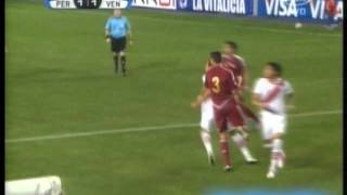 Peru 2 Venezuela 1 (Tv Fox Sports) Eliminatorias Rumbo a Brasil 2014 Los goles (7/9/2012)