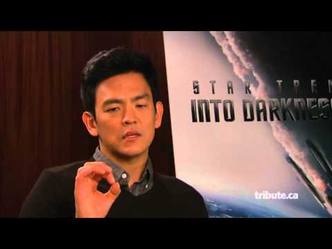 John Cho - Star Trek Into Darkness Interview HD