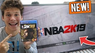 *NEW* FIRST EXCLUSIVE NBA 2K19 GAMEPLAY! + I WAS SCANNED INTO THE GAME!
