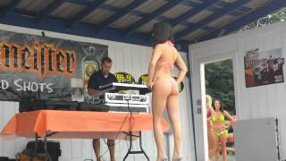Kristen bikini contest August 17th 2013