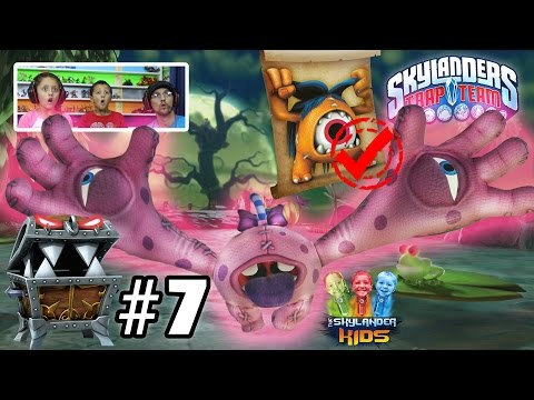 Lets Play Skylanders Trap Team: Chapter 7 - Monster Marsh w/ Eye Scream, Eye Five & Chomp Chest