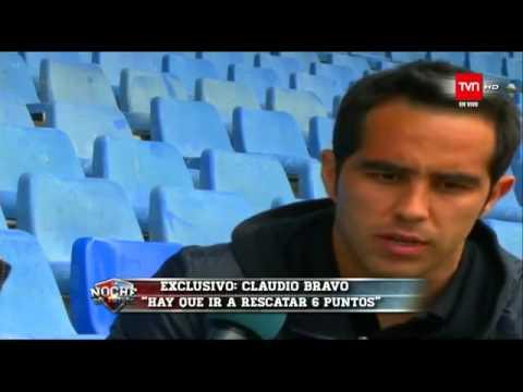 Entrevista a Claudio Bravo   TVN