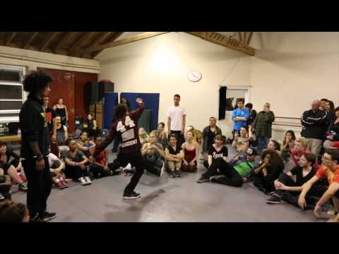 Les Twins At City Dance April 2014 With Abagail Fritz video