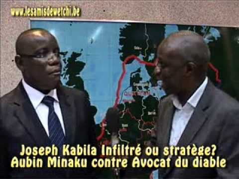 Joseph Kabila infiltr ou stratge Aubin Minaku en parle