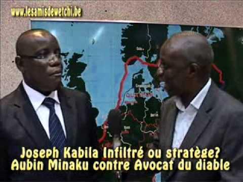 Joseph Kabila infiltré ou stratège Aubin Minaku en parle