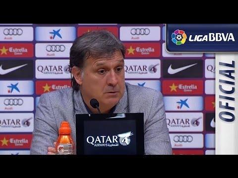 Rueda de Prensa de Gerardo Tata Martino tras el FC Barcelona (2-1) Real Madrid - HD