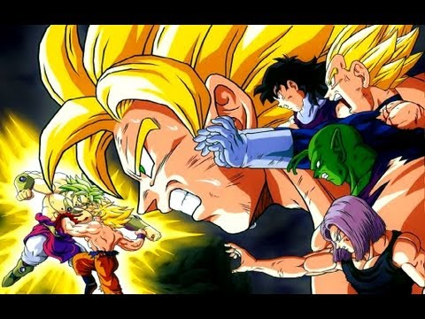 Dragon Ball Z [short-amv] Goku Vs Broly - The Kill - 30 Second To Mars video