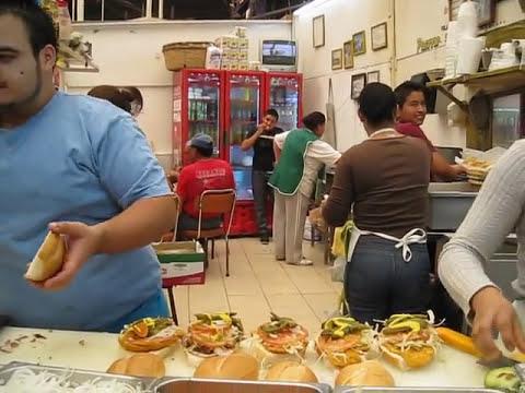 Tortas Pacorro en San Francisco del Rincon, Guanajuato