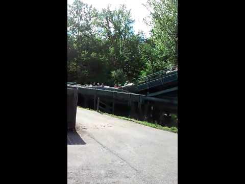 Log Flume Six Flags Log Flume Stuck at Six Flags