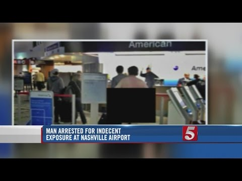 Naked Man Arrested At Nashville International Airport