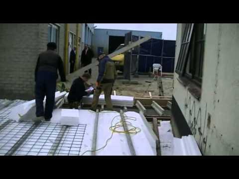 Combinatievloer beton berekenen