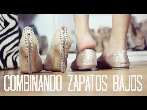 COMBINANDO ZAPATOS BAJOS - 4 OUTFITS con Persunmall