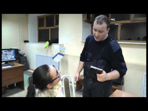 Пьяная женщина юрист на Шкоде. Место происшествия 25.02.2015
