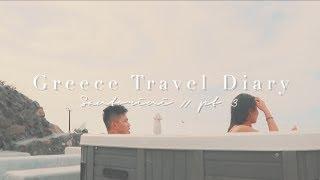 Greece Travel Diary pt. 3 // Staycay in Santorini