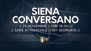 Serie A1M [10^]: Siena - Conversano 21-28