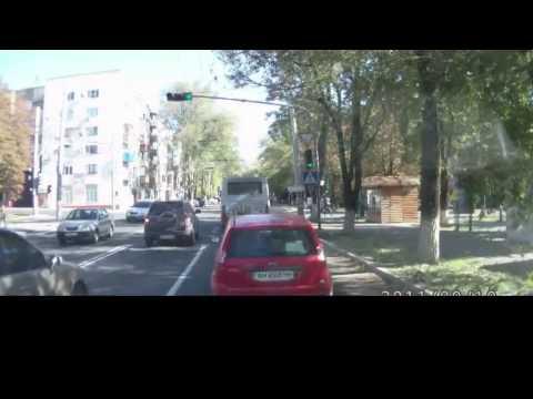 Мариуполь 10.10.14 маршрутка против азова