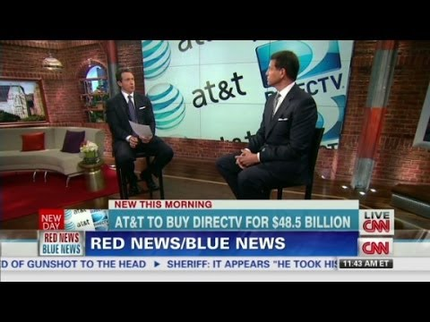 Red News, Blue News: AT&T/DirecTV merger