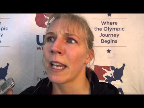Alyssa Lampe, 48 kg women's semis winner at U.S. Open