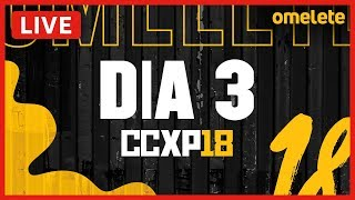 MARVEL AO VIVO NA CCXP 2018!