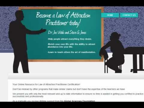 Law of Attraction Practitioner Certification Review