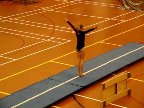 Naomi Bouman Turnen Mat 2e Voorronde Wilnis 1e Plaats