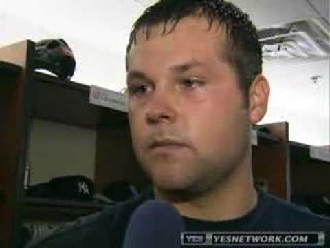 Joba Chamberlain Interview 8/7/07 Video