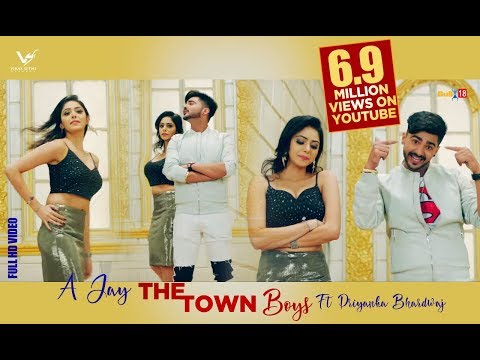 The Town Boys || A-Jay Ft. Priyanka Bhardwaj & LOC || G Skillz || VS Records || Latest Punjabi Songs thumbnail