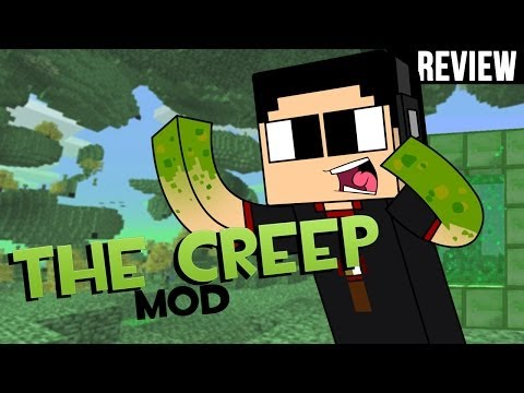 Minecraft PC: Review Creeper Dimention I Creep Mod para 1.7.2 I Español