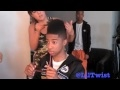 Lil Twist Behind The Scene: Word Up! Magazine Cover Shoot