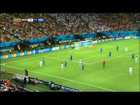 England Italy 2014 World Cup Full Game BBC