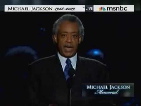 Michael Jackson Memorial Servcie - Rev. Al Sharpton
