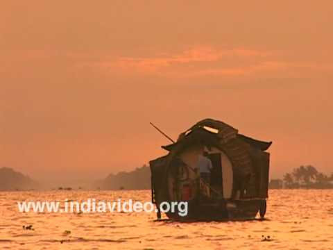 Backwater tourism Houseboat cruise Kerala India