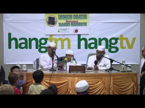 Musa Hafizh Cilik Di Radio Hang FM Batam - Hari Ke 2
