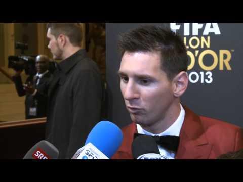 Geschlagener Lionel Messi: