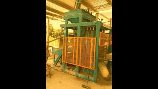 ITAL MEXICANA 515 BLOCK MACHINE / GRAVITY CONVEYOR yt:crop=16:9