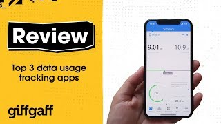 Top three data tracking apps | giffgaff