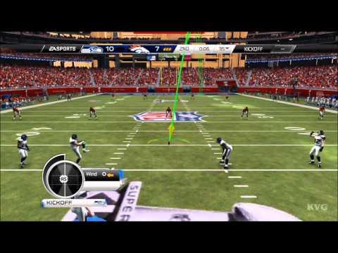 Madden NFL 15 - Seattle Seahawks vs Denver Broncos | Super Bowl Gameplay [HD]