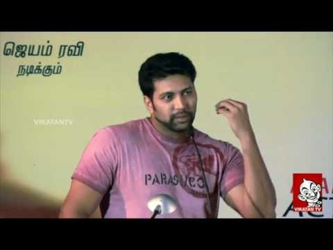 Jayam Ravi Talks about Ameer and Aadhi Bhagavan