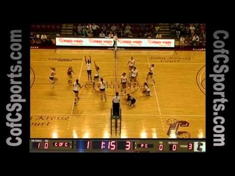 9.7.10 Volleyball vs. Presbyterian Highlights