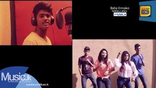 Baby Ennako (Making of the Audio) - Salman, Lahiru Music Video