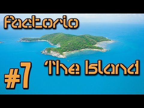 Factorio The Island (Modded) - 7 - Behold Science!