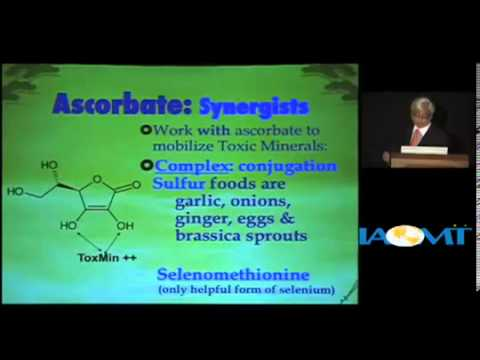 Ascorbate (Vitmamin C) and heavy metal detoxification by Dr Russell Jaffe
