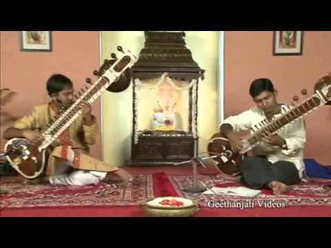 Lesson in Sitar- Composition in Rag Kafi