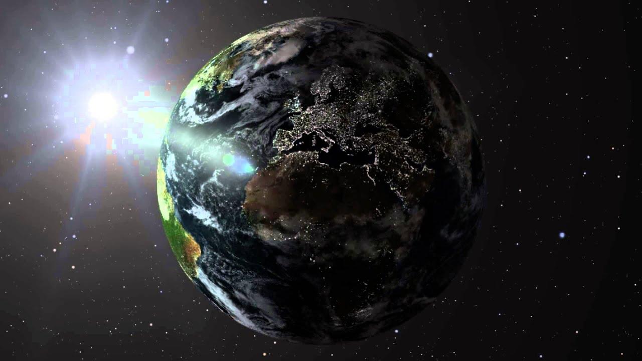 Animation terre vue de l 39 espace after effect cs6 youtube - Les sinsin de l espace ...
